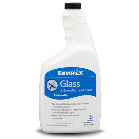 EnvirOx® Glass & General Surface Cleaner - Qt.
