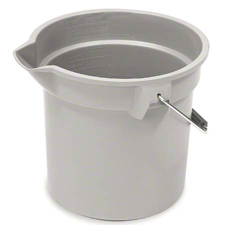 Rubbermaid® Brute® Round Bucket - 10 Qt.