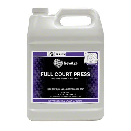 SSS® NewAge Full Court Press Low Odor Sports Floor Finish