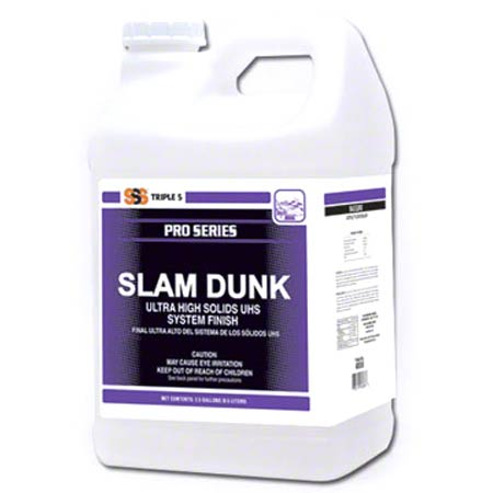 SSS® Slam Dunk 25 Ultra High Solids System Finish -2.5 Gal