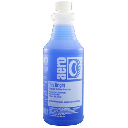 TIRE BRIGHT SILICONE RUBBER DRESSING RTU QT
