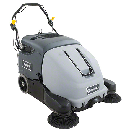 SWEEPER ADV SW900 WALK BEHIND BATTERY W/OB CHARGER 41IN