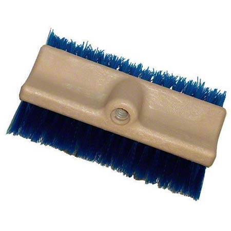 BRUSH SCRUB 10IN MULTISURFACE BLUE