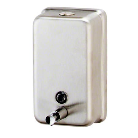 DISP SOAP LIQUID STAINLESS VERTICAL
