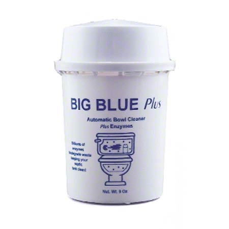 BIG BLUE PLUS AUTOMATIC BOWL CLEANER W/ENZYMES