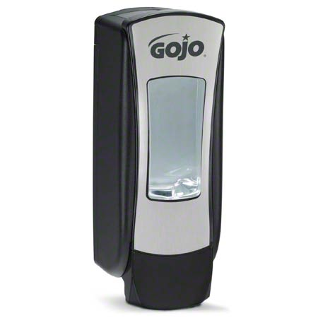 DISP GOJO ADX 1250ML BRUSHED CHROME/BLACK