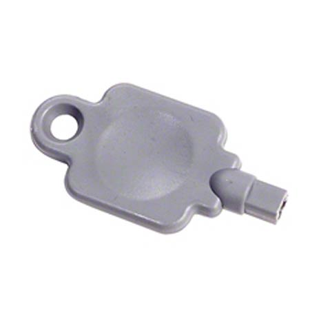 KEY DISP GP FITS 54050/58050 GRAY WITH X ON TIP