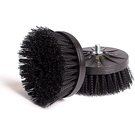 BRUSH HOS ORBOT MICRO BLACK FOR AGGRESSIVE SCRUBBING 2/SET