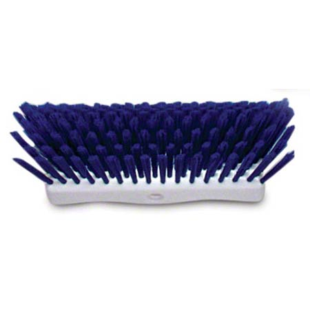 BRUSH 10IN MULTILEVEL SCRUB BLUE/WHITE