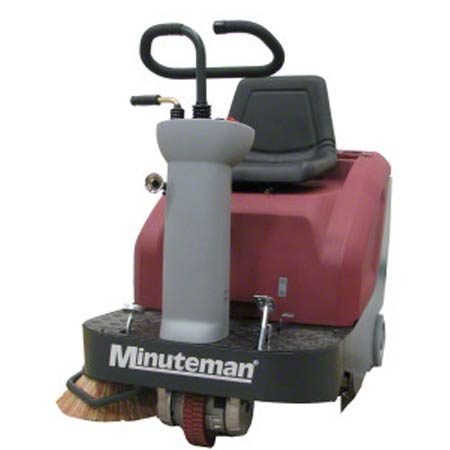 SWEEPER MIN 32IN RIDER 24VOLT WITH BATTERIES CHARGER SIDE