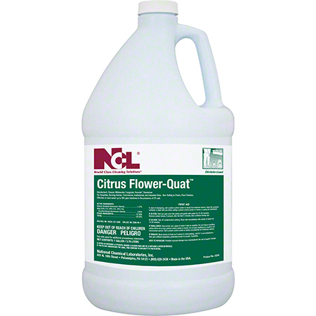 CITRUS FLOWER QUAT NEUTRAL DISINFECTANT CLNR GAL