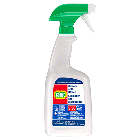 COMET CLEANER W/BLEACH QT TRIGGER SPRAYER