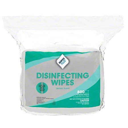 WIPES DISINFECTING SURFACE 6 X 8 LEMON 800 CT(#10100)