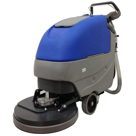 AUTOSCRUBBER CHAMP PRO 20IN PAD ASSIST ONBOARD CHARGER 24V