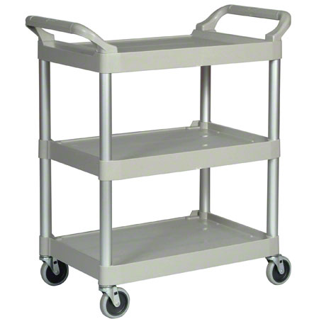 CART UTILITY 3 SHELF 200LB CAPACITY PLATINUM