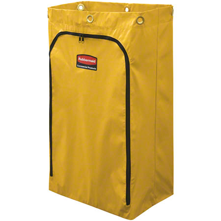 BAG FOR JANITOR CART W/ZIPPER FITS 6173 CART