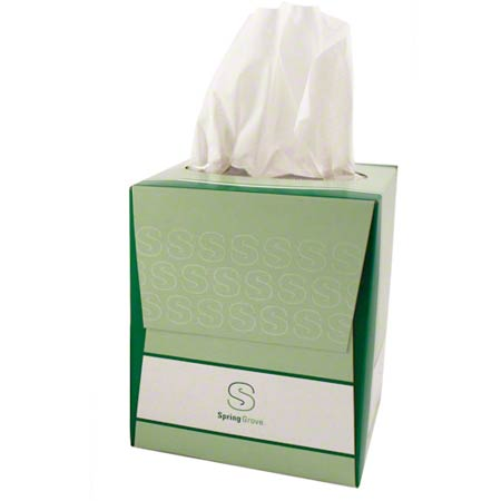 FACIAL TISSUE 85 SHT 36 CUBE BOX/CS(FTC827936)