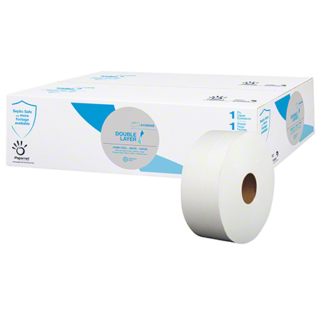 TOILET PAPER JUMBO JR 9IN 2 PLY 12/CS 1000FT HEAVENLY