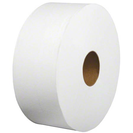 TOILET PAPER JUMBO JR 9IN 2 PLY 12/CS
