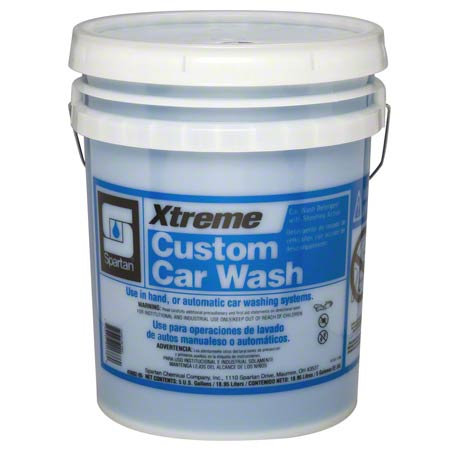CAR WASH SPARTAN XTREME CUSTOM CONC 5 GAL