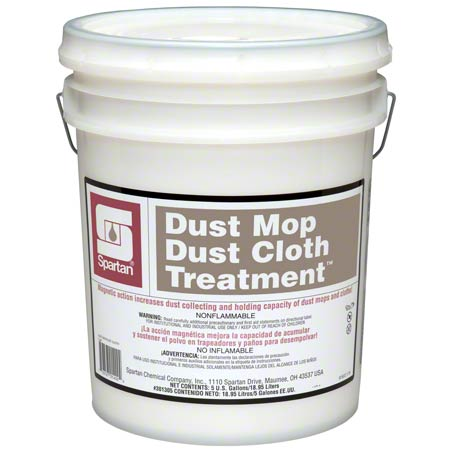 DUST MOP TREATMENT SPARTAN WATER BASED 5 GAL