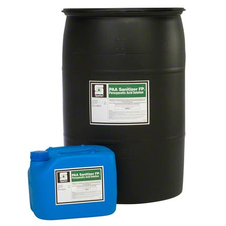 SANITIZER PAA SPARTAN ACID-BASED 4.3 GALLON