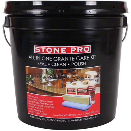 ULTIMATE PRO STONEPRO GRANITE CARE SEALER/CLNR/POLISH KIT