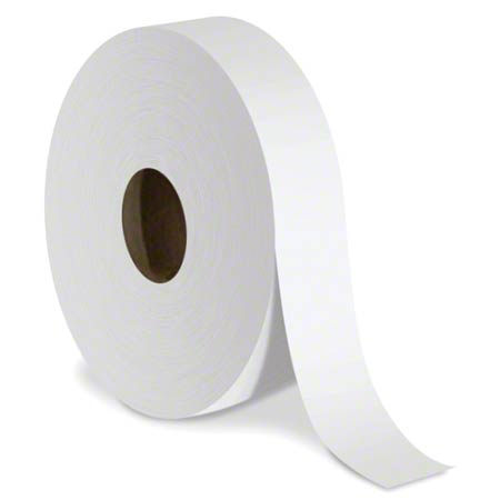 TOILET PAPER JUMBO JR 1PLY 12/CS 2000'PER ROLL(JRT1221)