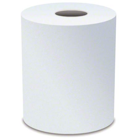TOWELS ROLL WHITE 10IN X 600' 6/CS(SEE UPC#S)
