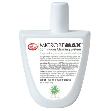MICROBEMAX DRAIN CLEANER 30 DAY REFILL 10 OZ