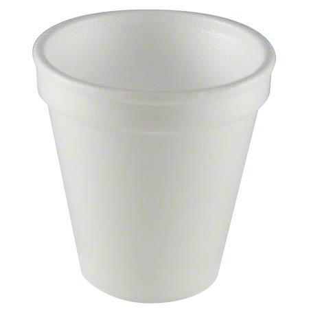 CUPS 6 OZ STYROFOAM 20/50 PAK/CS(#6J6)