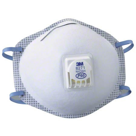 RESPIRATOR 3M #8271 P95 10 PIECES / BOX