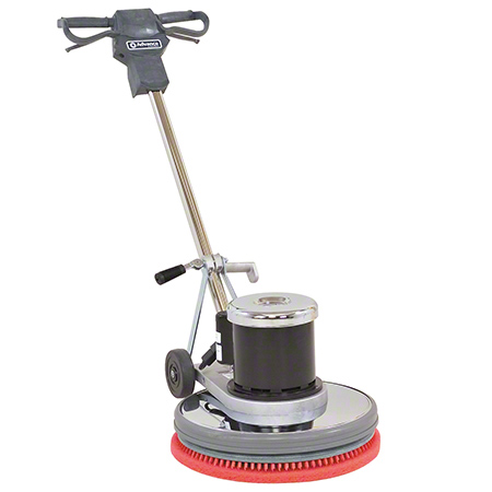 01440A ADVANCE PACESETTER 20TS 20 INCH FLOOR MACHINE - 2 SPEED 1.5HP DC RECTIFIED MOTOR HORSEPOWER. RUNS AT 180 AND 320 RPM. 50 FT YELLOW POWER CORD.