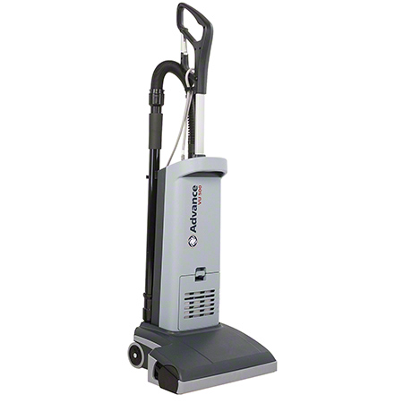 107404754 ADVANCE VU500-15 UPRIGHT VACUUM. 120V, 60Hz, 9 AMP - 2 STAGE MOTOR. 3.4 Qt BAG CAPACITY. 50 FT DETACHABLE POWER CABLE FOR QUICK SERVICE. QUIET OPERATION.