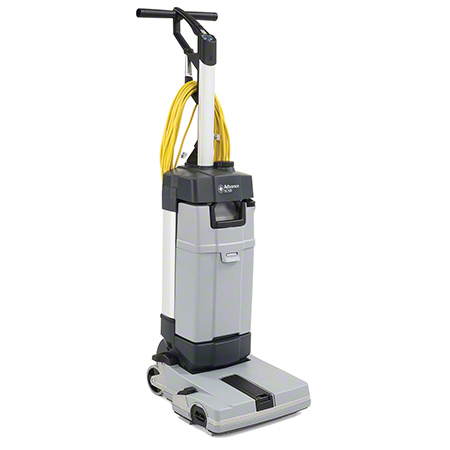 107408121 ADVANCE SC100 UPRIGHT SCRUBBER WITH CARPET KIT. 12.2 INCH SQUEEGEE WIDTH, 2100 RPM BRUSH SPEED. 1 GAL RECOVERY CAPACITY AND 0.8 GAL SOLUTION CAPACITY. 33 INCH YELLOW POWER CORD LENGTH