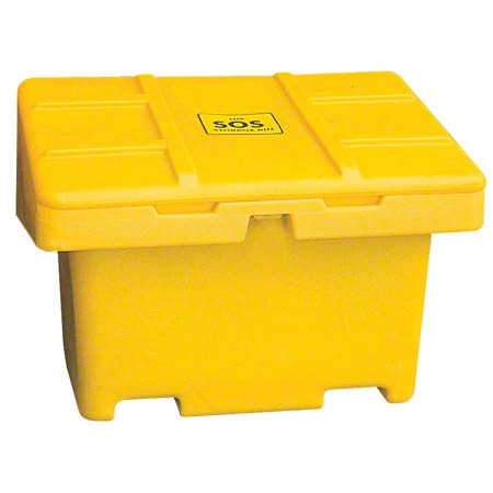 "SOS18YE STORAGE BIN YELLOW 48""""L X 33""""W X 34""""H"