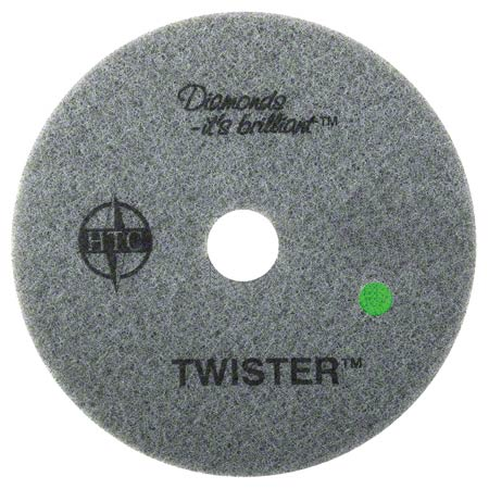 435514 TWISTER DIAMOND COATED GREEN (3,000 GRIT) FLOOR PADS 2/CS