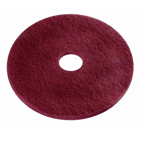 420720 20″ MAROON ECOPREP CHEMICAL FREE STRIPPING PADS 10/CS