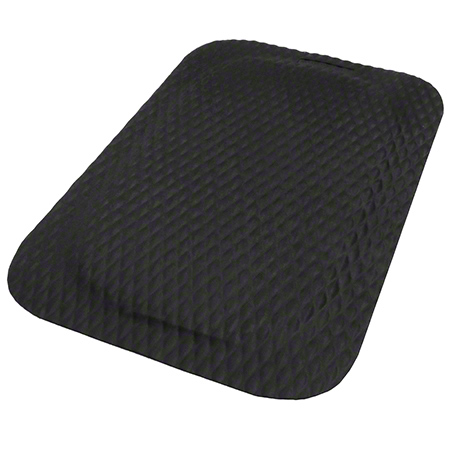 64210035 3x5 HogHeaven Ergonomic Black Grease Proof; Cushioned Foam