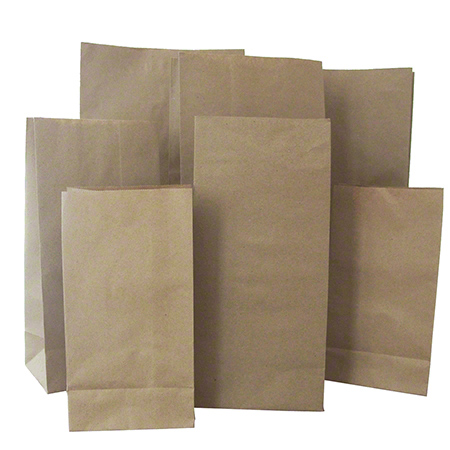 "4100003 APB 10LB BROWN HARDWARE BAG, 50LB BASIS WGT, 250/BUNDLE 6-9/16"" X 4-1/16"" X 13-3/16"""