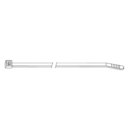 "08600-0 FASTENER 11"" CABLE TIE NATURAL"