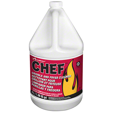 1154278004 CHEF GRIDDLE AND FRYER CLEANER 4 X 4L