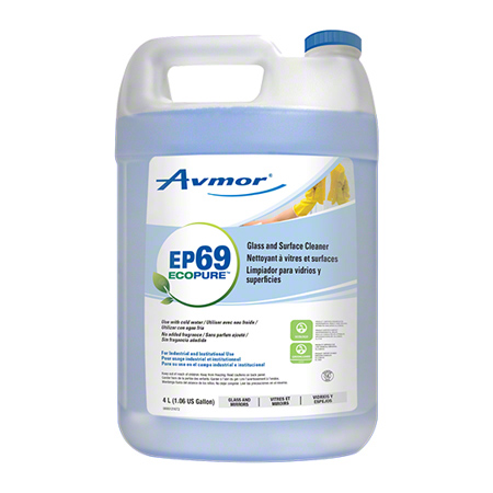 EP69 GLASS AND SURFACE CLEANER 4 X 4L/CS