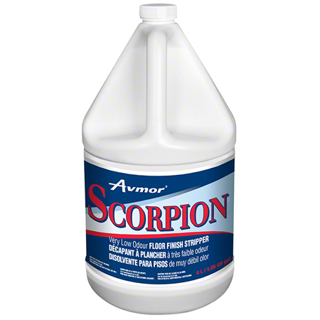 SCORPION LOW ODOR FLOOR FINISH STRIPPER 4X4LT*