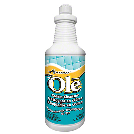 AVMOR OLE LEMON SCENT CREAM CLEANSER 12X946ML/CS