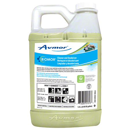 BIOMOR CLEANER AND DEODORIZER 4X1.8LT/CS*