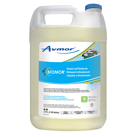 BIOMOR CLEANER & DEODORIZER 4X3.78LT/CASE*