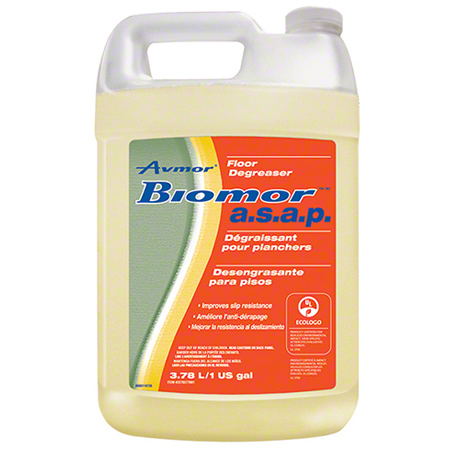 2270277001 AVMOR BIOMOR A.S.A.P. FLOOR DEGREASER, 4×3.78GAL/CS