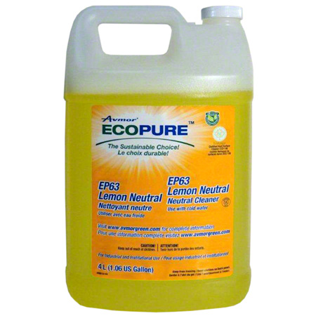 EP63 LEMON NEUTRAL – NEUTRAL CLEANER 4 X 4L/CS*