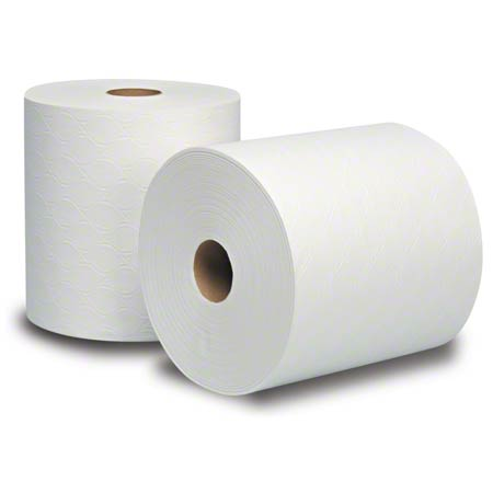 "8030620 ARTISAN WHITE 8"" CONTROLLED ROLL TOWEL 6 X 600'"
